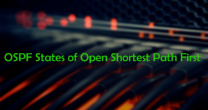 ospf states of open shortest first path